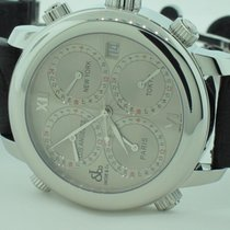 Jacob & Co. H24 Five Time Zone Stainless Steel Automatic