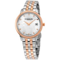 Raymond Weil Toccata Mop Diamond Dial Two-tone Ladies Watch...