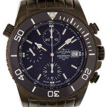 Davosa Argonautic Lumis Stahl PVD beschichtet Gun Chronograph...