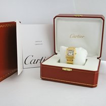 Cartier Tank Francaise 2466 GOLD and DIAMONDS