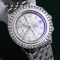 Breitling Windrider Crosswind Diamond Bezel