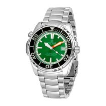 Deep Blue Sea Quest Green Dial Automatic Men's Watch