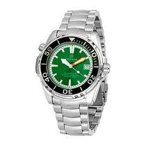 Deep Blue Sea Quest Green Dial Automatic Men's Watch