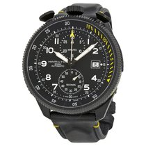 Hamilton Khaki Aviation Takeoff Automatic Chronograph Black...