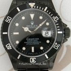 Rolex 16610 Submariner, Steel with black PVD, W Series