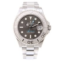 Rolex Yacht Master Platinum And Steel Gray Automatic 268622GY_O