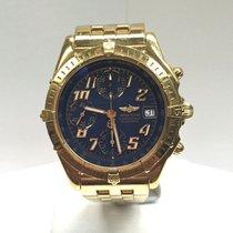 Breitling Chronomat GT 18K Gold/Blue Dial