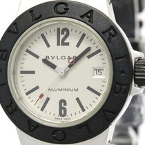 Bulgari Aluminum Rubber Quartz Ladies Watch Al29ta (bf097651)