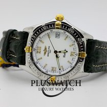 Breitling Callisto Steel Gold Automatic White Dial