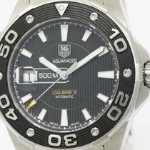 TAG Heuer Polished Tag Heuer Aquaracer 500m Calibre 5 Automati...