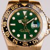 Rolex GMT MASTER II ORO GIALLO QUADRANTE VERDE