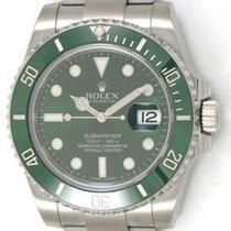 Rolex Submariner / Green Face / Steel / 116610V