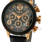 B.R.M Chronograph Automatic, Black Dial - Rose Gold &...
