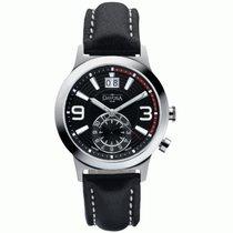 Davosa Vagabond Dual Time Quartz Herrenuhr 162.468.55