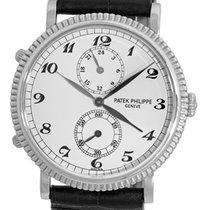 Patek Philippe Gent's 18K White Gold  # 5034 G Travel Time...