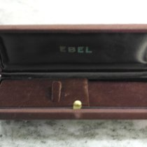 Ebel vintage watch box brown very rare