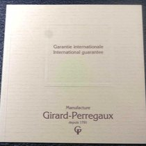 Girard Perregaux vintage booklet papers warranty newoldstock