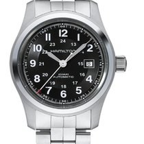 Hamilton Khaki Field Automatic Black Dial 42mm