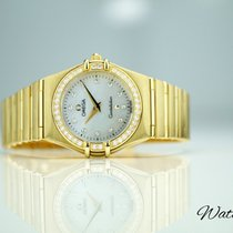 Omega Constellation Lady Ref: 1177.75.00 750/18K Gold Brillanten