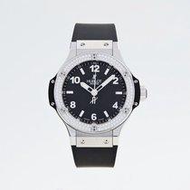 Hublot 361.SX.1270.RX.1104 Big Bang Steel Black Diamonds 38mm
