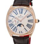 Zenith 18K Rose Gold Heritage Star Moonphase Automatic Ladies...
