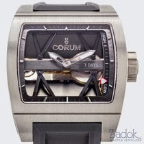 Corum Ti-Bridge 3 Day Power Reserve Manual Titanium 42.5mm...