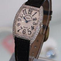 Franck Muller Curvex White Gold 1752 Qzd Diamonds