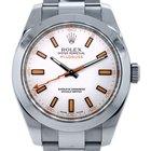 Rolex Milgauss 116400  and Orange Dial Wristwatch