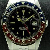 Rolex GMT Master Bakelite Ref. 6542, glossy dial, gilt graphic