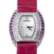 Audemars Piguet Silver Dial Diamond Ladies Watch