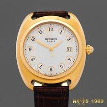 Hermès Dressage 18K Gold Ref.DR1785  Automatic Box & Paper