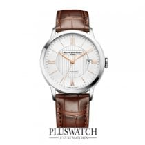 Baume & Mercier Classima Steel/Leather Silver Dial 40mm T