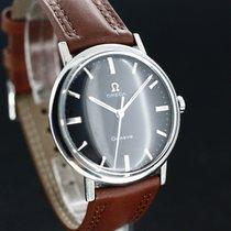 Omega Geneve Black Dial Super Zustand Caliber 601 aus 1968