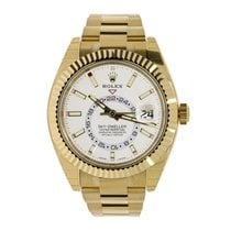 Rolex SKY-DWELLER 42mm 18K Yellow Gold Watch UNWORN 2016