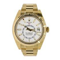 Rolex SKY-DWELLER 42mm 18K Yellow Gold Watch UNWORN 2017