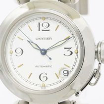Cartier Pasha C Steel Automatic Unisex Watch W31015m7 (bf091435)