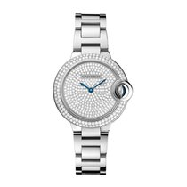 Cartier Ballon Bleu Automatic Ladies Watch Ref WE902048