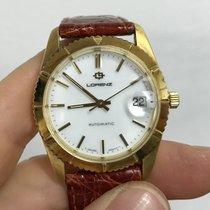 Lorenz Datejust Automatico godronata automatic 36 mm oro gold