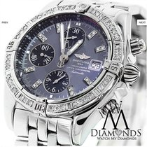 Breitling Chronomat Evolution Stainless Steel Watch With...