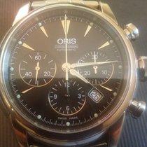 Oris Artelier Chronograph 676 7547 4054MB, men's wristwatch