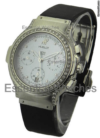 Hublot Elegant Chronograph with Diamond Case &amp;amp; Bezel