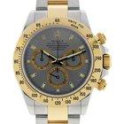 Rolex Daytona 116523 Slate Dial Two Tone Mens Watch