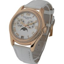 Patek Philippe 4936 Annual Calendar Ladies Diamond Bezel