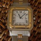 Cartier Santos automatique steel and gold