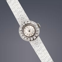 Longines Ladies 18ct white gold & diamond watch manual
