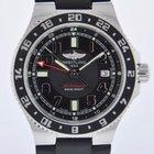 Breitling SUPEROCEAN GMT BLACK 2 YR FELDMAR WATCH CO WARRANTY