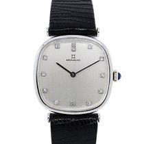 Movado Gold Diamond Marker Watch