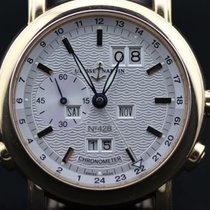 Ulysse Nardin GMT +/- Perpetual 18K Red Gold 322-88
