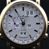 Ulysse Nardin GMT +/- Perpetual 18K Red Gold 322-88