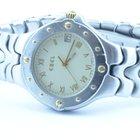 Ebel Sportwave Herren Uhr 37mm Stahl/750 Gold Klassische Uhr